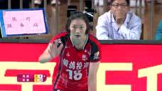 【回放】19/20中国女排超级联赛第5轮:河南女排vs天津女排 第2局